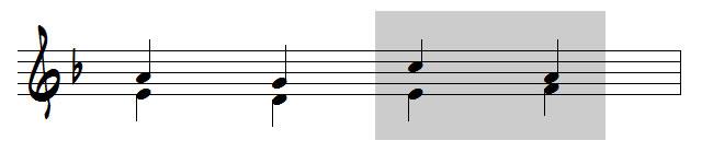 mouvements contraires en musique