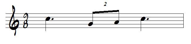 duolet en musique
